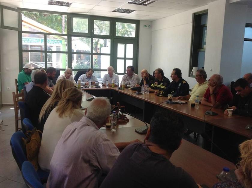 Επίσκεψη Τόσκα – Σπίρτζη στη Σκόπελο  (photos)