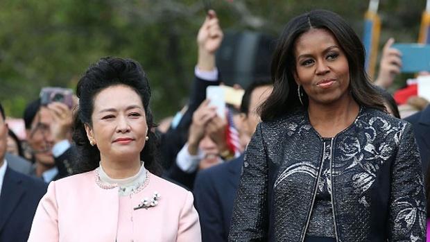 Peng Liyuan Michelle Obama jpg