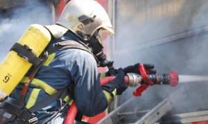 «Συναγερμός» στην Πυροσβεστική – Πυρκαγιά σε κτήριο στην Πειραιώς