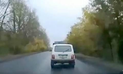 UFO προκάλεσε τρομακτικό δυστύχημα στη Ρωσία (video)