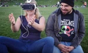 Τι συμβαίνει όταν βλέπει κανείς για πρώτη φορά πορνό εικονικής πραγματικότητας; (video)