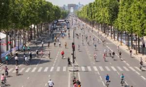 Ένα Παρίσι χωρίς αυτοκίνητα!