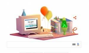 Google: 17 χρόνια ιστορίας που άλλαξαν το ίντερνετ μέσα σε ένα Google Doodle