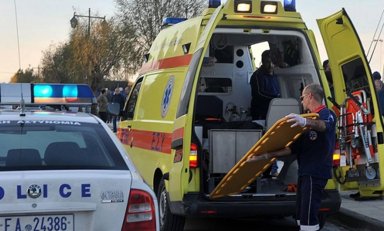 Χανιά: Ένας τραυματίας από εκτροπή αυτοκινήτου