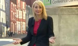 Την παρενόχλησαν ενώ έκανε ρεπορτάζ για τη σεξουαλική παρενόχληση! (video)