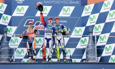 MotoGP Grand Prix Aragon: Ο Lorenzo νικητής (Photos)