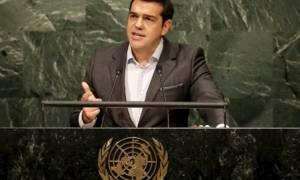 Τσίπρας στον ΟΗΕ: Διεθνής πρόκληση και αναπτυξιακός όρος η αναδιάρθρωση του χρέους (video)