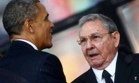 Συνάντηση Ομπάμα με Ραούλ Κάστρο την Τρίτη