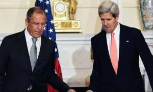 ΟΗΕ: Κέρι και Λαβρόφ συζήτησαν τις δυνατότητες για μια «μετάβαση» στη Συρία