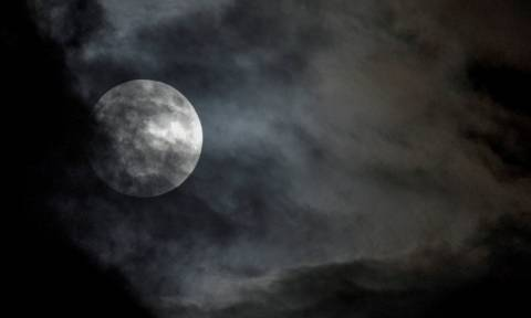 Total eclipse of supermoon from the Nymphs Hill