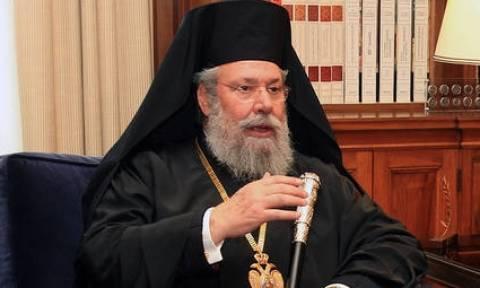Κυπριακό: Την απαισιοδοξία του για λύση εξέφρασε ο Αρχιεπίσκοπος Κύπρου