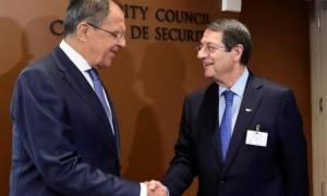 Αναστασιάδης-Λαβρόφ: Συζήτησαν Κυπριακό, οικονομία και ενεργειακά