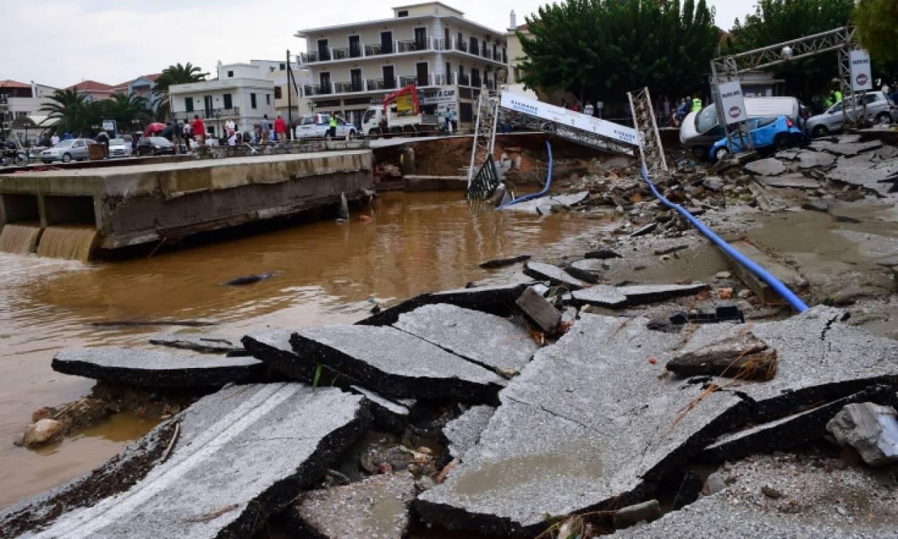Σκόπελος: Τραυματίστηκε 50χρονος εργάτης στα έργα αποκατάστασης των ζημιών