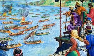 Σαν σήμερα το 480 π.Χ η Ναυμαχία της Σαλαμίνας