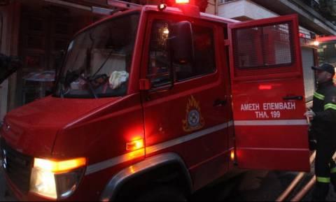 Ρέθυμνο: Κατάστημα καταστράφηκε ολοκληρωτικά από πυρκαγιά