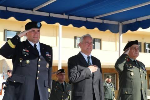 Ο Α/ΓΕΣ με τον Διοικητή των Στρατιωτικών Δυνάμεων των ΗΠΑ στην Ευρώπη (pics)