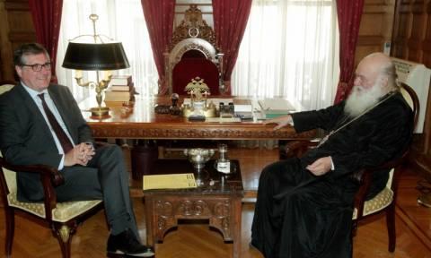 Ο Γερμανός Πρέσβης στον Αρχιεπίσκοπο Ιερώνυμο