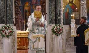 Προσκύνημα του Οσίου Ιωάννου του Ρώσου στην Εύβοια (pics)