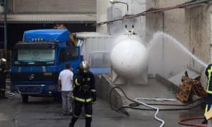 Χανιά: Συναγερμός στη Σούδα από διαρροή προπανίου (photos - videos)