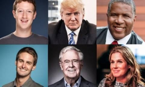 Forbes: Αυτή είναι η λίστα με τους βαθύπλουτους του πλανήτη