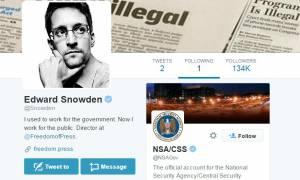 Ο Σνόουντεν επέστρεψε στο Twitter και (παρ)ακολουθεί την… NSA!