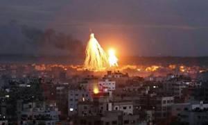 Το Ισραήλ απάντησε στη ρίψη ρουκέτας με βομβαρδισμό της Γάζας