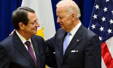 Κυπριακό και ενεργειακά στη συνάντηση Μπάιντεν- Αναστασιάδη