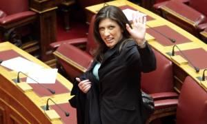Νύχτα μετακόμισε από τη Βουλή η Κωνσταντοπούλου