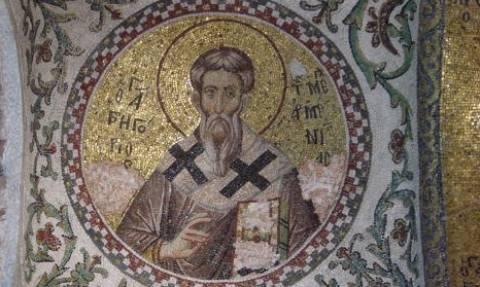 Εορτή του Αγίου Γρηγορίου του Επισκόπου Μεγάλης Αρμενίας
