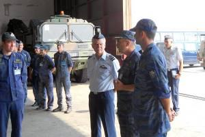 Επίσκεψη Αρχηγού ΤΑ στην αεροπορική βάση Χρυσούπολης (pics)