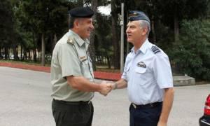 Στη Σχολή Πολέμου ο αρχηγός τακτικής αεροπορίας (pics)