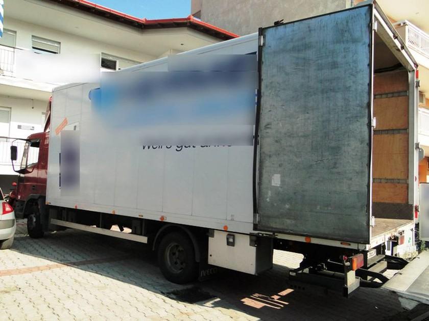 Θεσσαλονίκη: Εντοπίστηκε φορτηγό με 50.000 λαθραία πακέτα τσιγάρων (pics)