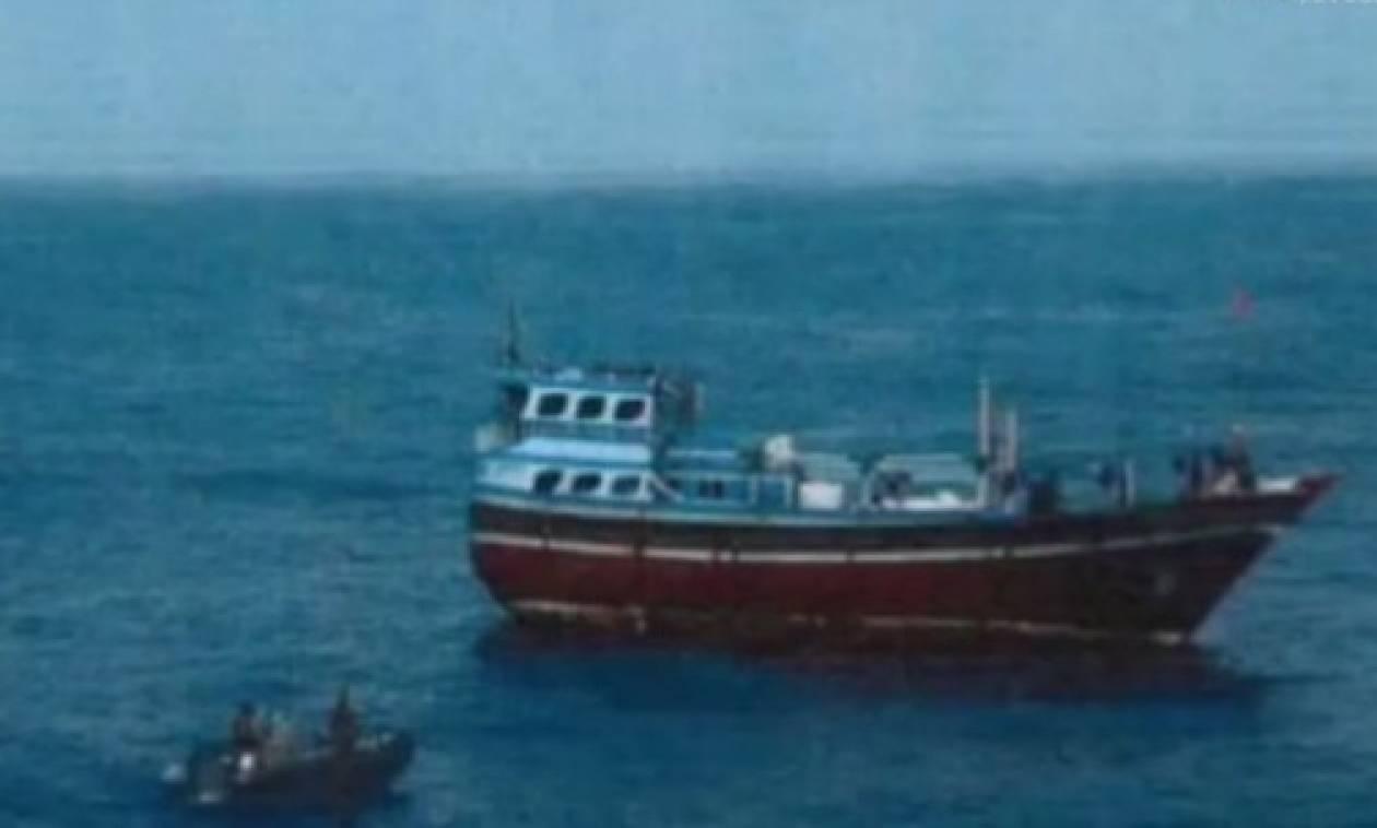 Εντοπισμός πλοίου στη θάλασσα του Ομάν που μετέφερε όπλα για τους σιίτες αντάρτες Χούτι