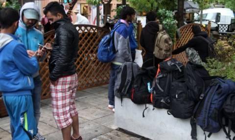 Χώρος υποδοχής προσφύγων το στρατόπεδο Λιόση