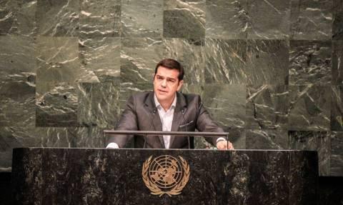 Τσίπρας: Το όραμα του ΟΗΕ δεν έχει εκπληρωθεί (video)