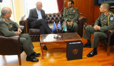 Συνάντηση ΑΝΥΕΘΑ με Αρχηγό Χερσαίων Δυνάμεων Ηνωμένων Αραβικών Εμιράτων