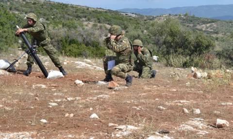 Εκπαιδευτικές Βολές Όλμων και Πυροβολικού από την 32η Ταξιαρχία Πεζοναυτών (pics)
