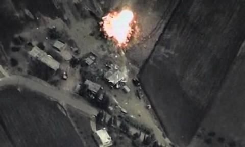 Ρωσικά αεροσκάφη έπληξαν κέντρο ελέγχου του Ισλαμικού Κράτους (video+photos)