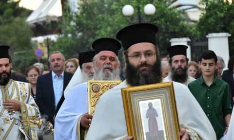 Η Τιμία Κάρα του Οσίου Αλεξίου στο Ναύπλιο