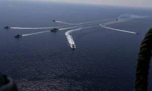 Άσκηση Παρμενίων 2015: Ο στόλος του Πολεμικού Ναυτικού στο Β. Αιγαίο