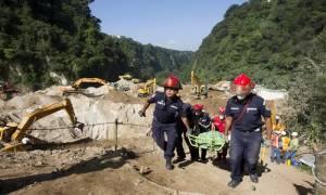 Γουατεμάλα: Τους 130 έφτασαν οι νεκροί της φονικής κατολίσθησης