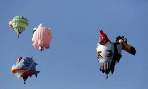 Αερόστατα παντού (photos)