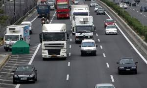 Αποκαταστάθηκε η κυκλοφορία στην Αθηνών - Λαμίας