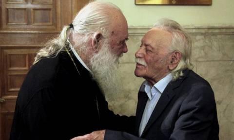 Ιερώνυμος: Ο Μανώλης Γλέζος μου ζήτησε εκκλησιαστική κηδεία (vid)