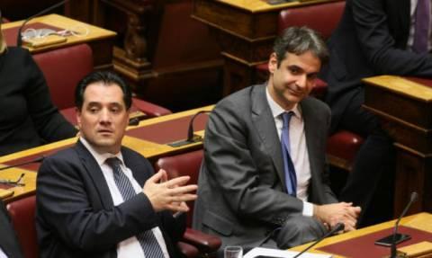 Προγραμματικές δηλώσεις: Μητσοτάκης και Γεωργιάδης οι κοινοβουλευτικοί εκπρόσωποι της ΝΔ