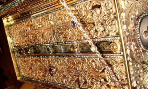 Στη Χαλκίδα η Τιμία Ζώνη της Θεοτόκου από τη Μονή Βατοπαιδίου