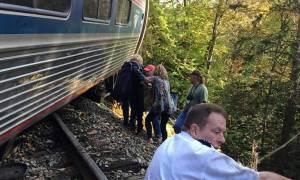 Αρκετοί τραυματίες μετά από εκτροχιασμό αμαξοστοιχίας στο Βερμόντ