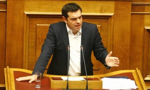Προγραμματικές δηλώσεις - Τσίπρας: Αναστολή του 23% ΦΠΑ στην εκπαίδευση (vid)