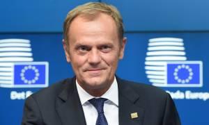 Tουσκ: Η αποκατάσταση του ελέγχου στα εξωτερικά σύνορα της Ευρώπης είναι η μόνη λύση