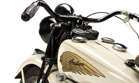 Κλασσική Μοτοσυκλέτα: Σε δημοπρασία η Indian του Steve McQueen